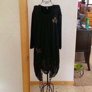 Vintage Staley Gretzinger drawstring dress